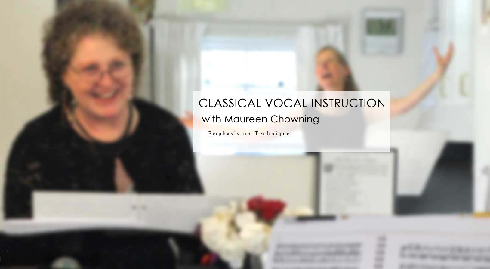 Renee Fleming and Maureen Chowning